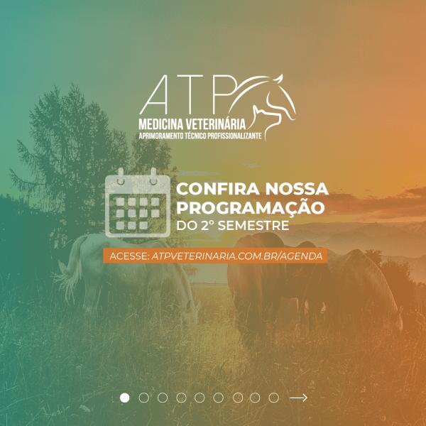 Agenda de cursos do segundo semestre de 2020 da ATP