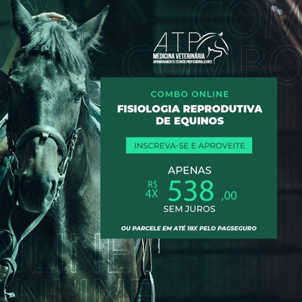 Fisiologia Reprodutiva de Equinos: oportunidade de especialização e crescimento profissional!